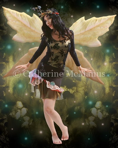 Fierce Fairy I by Catherine McManus
