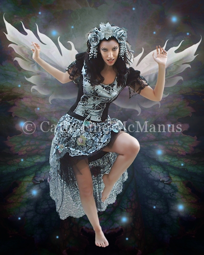 Fierce Fairy II by Catherine McManus