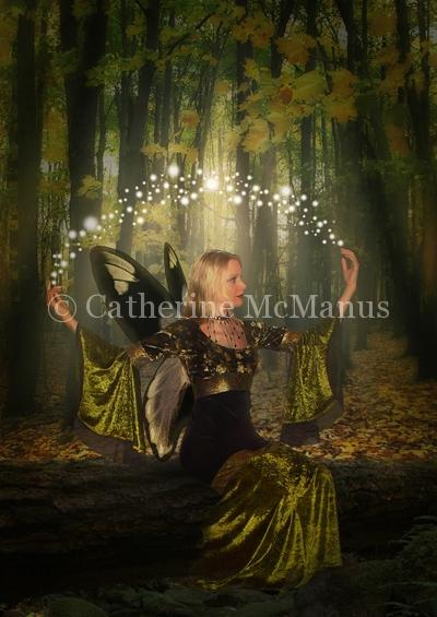 Green Fairy by Catherine McManus