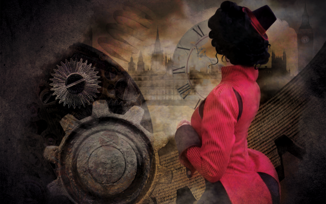 Project: Cover Art for Steampunk Paranormal Romance Novel